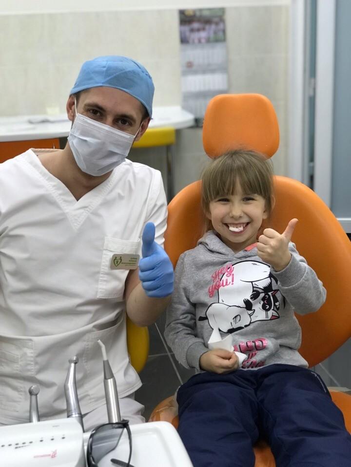 Малыш, после знакомства с клиникой и детским врачом, больше не будет боятся